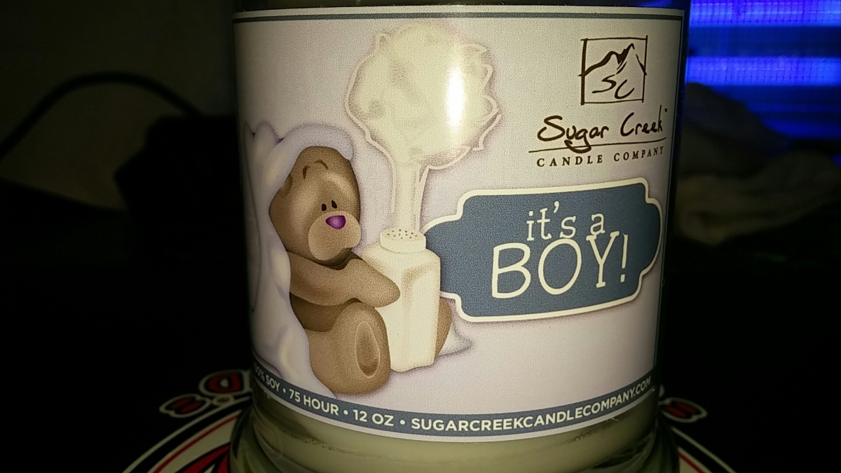 It S A Boy Natural Scented Soy Wax 12 Oz Candle Danilouann