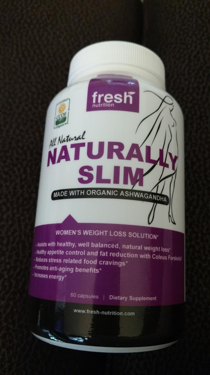 Organic Naturally Slim Womens Weight Loss Supplement
